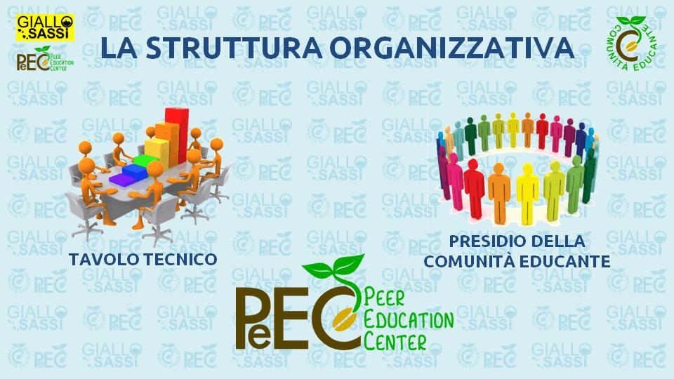 La Struttura Organizzativa della Comunità Educante