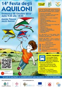 Locandina Festa degli Aquiloni 2016