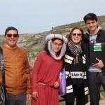 10 - Generale HFF2016 - Elisabetta (Mona) in una foto ricordo con i docenti referenti del progetto