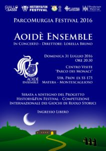 Flyer Concerto Aoidè Ensemble