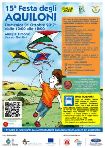 Locandina Festa degli Aquiloni 2017