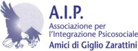 """Logo Associazione per l'Integrazione Psicosociale """"Amici di Giglio Zarattini"""""""