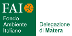 Logo FAI Fondo Ambiente Italiano - Delegazione di Matera