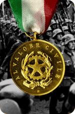 Matera - Medaglia d'oro al valore civile per i fatti del 21 Settembre 1943