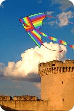Aquiloni in volo al Parco del Castello di Matera