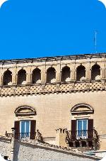 Palazzo Bernardini - Matera - Facciata