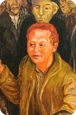 C. Levi - Lucania '61 - Dettaglio Rocco Scotellaro - Museo di Palazzo Lanfranchi Matera