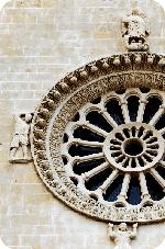 Cattedrale di Matera - Particolare del rosone