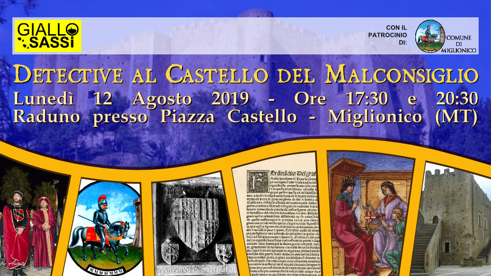 Cover Detective al Castello del Malconsiglio del 12 Agosto 2019