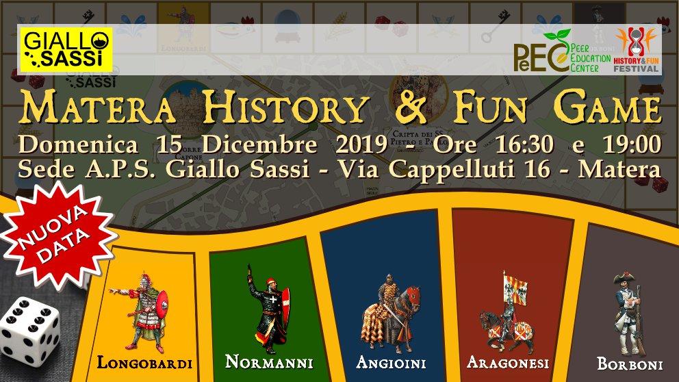 Cover History&Fun Game del 15 Dicembre 2019