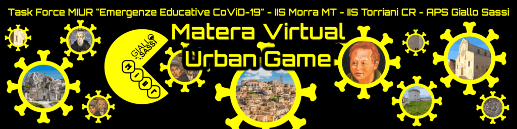 Intestazione Matera Virtual Urban Game
