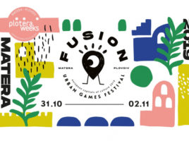 Plotera Fusion Urban Games Festival - Flyer